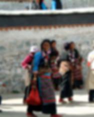 Lhasa, Tibet. Street Scene