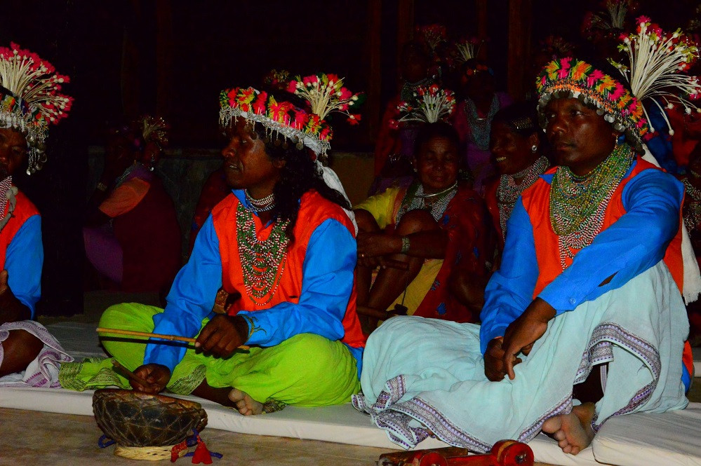 Locals in Traditional Wear