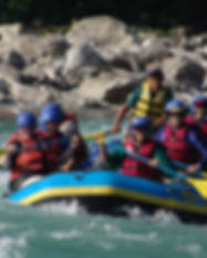 Experiential Tours White Water Rafting