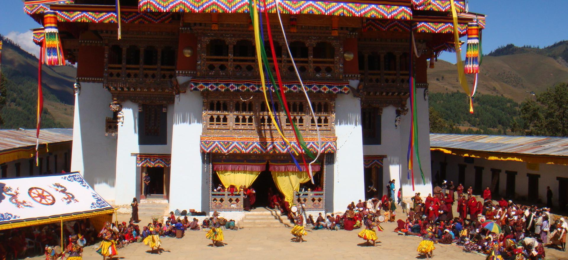 Gangtey Monastery.