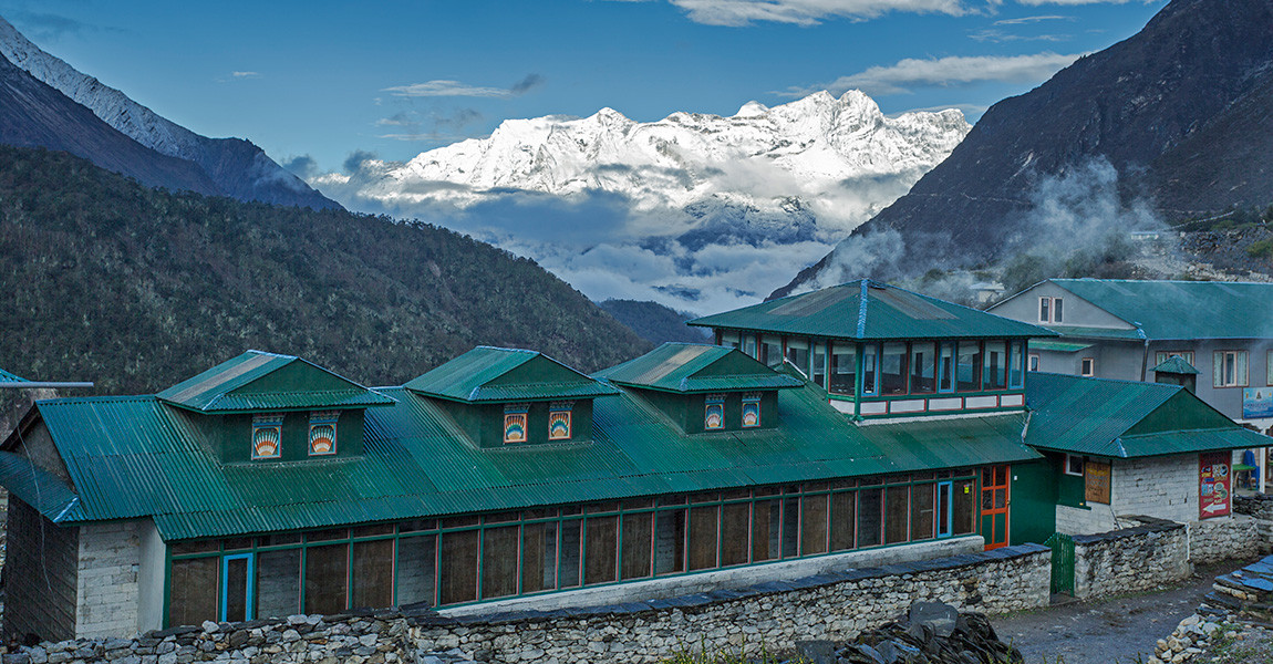 One of our preffered experiential lodges in the Everest region
