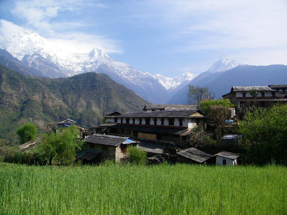 Gandruk Village