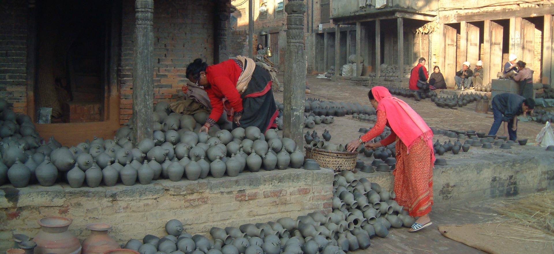 Pottery in Bhaktapur