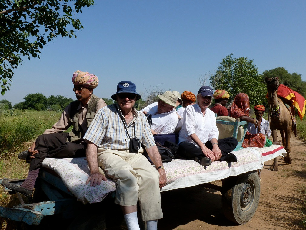 Camel cart Safari in Nimaj