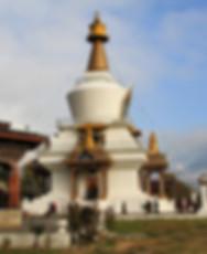 Memorial stupa in Bhutan.