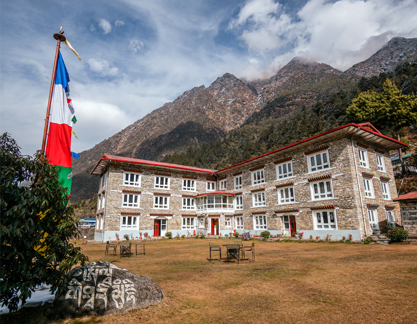 One of our preffered lodges for our experiential tour in the Everest region