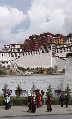 Dharma Advenures Luxury Holidays Tibet Link Picture Potala Palace