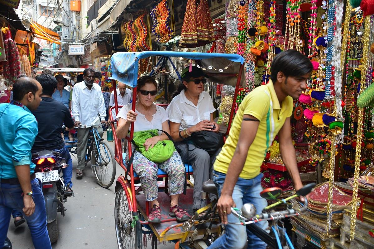 Old Delhi Rickshaw tour.