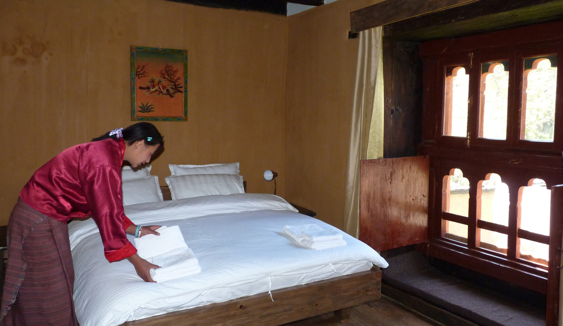 One of our experiential tour hotels in Paro, Bhutan. Nemjo Heritage Lodge