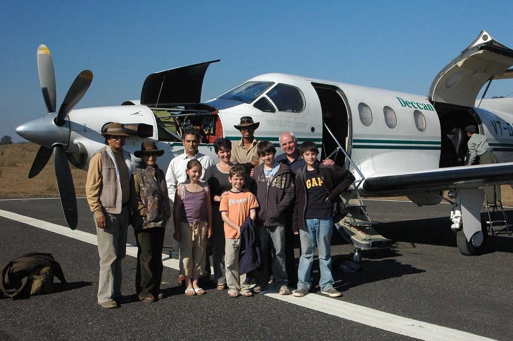 Kanha PC 12 Aircarft