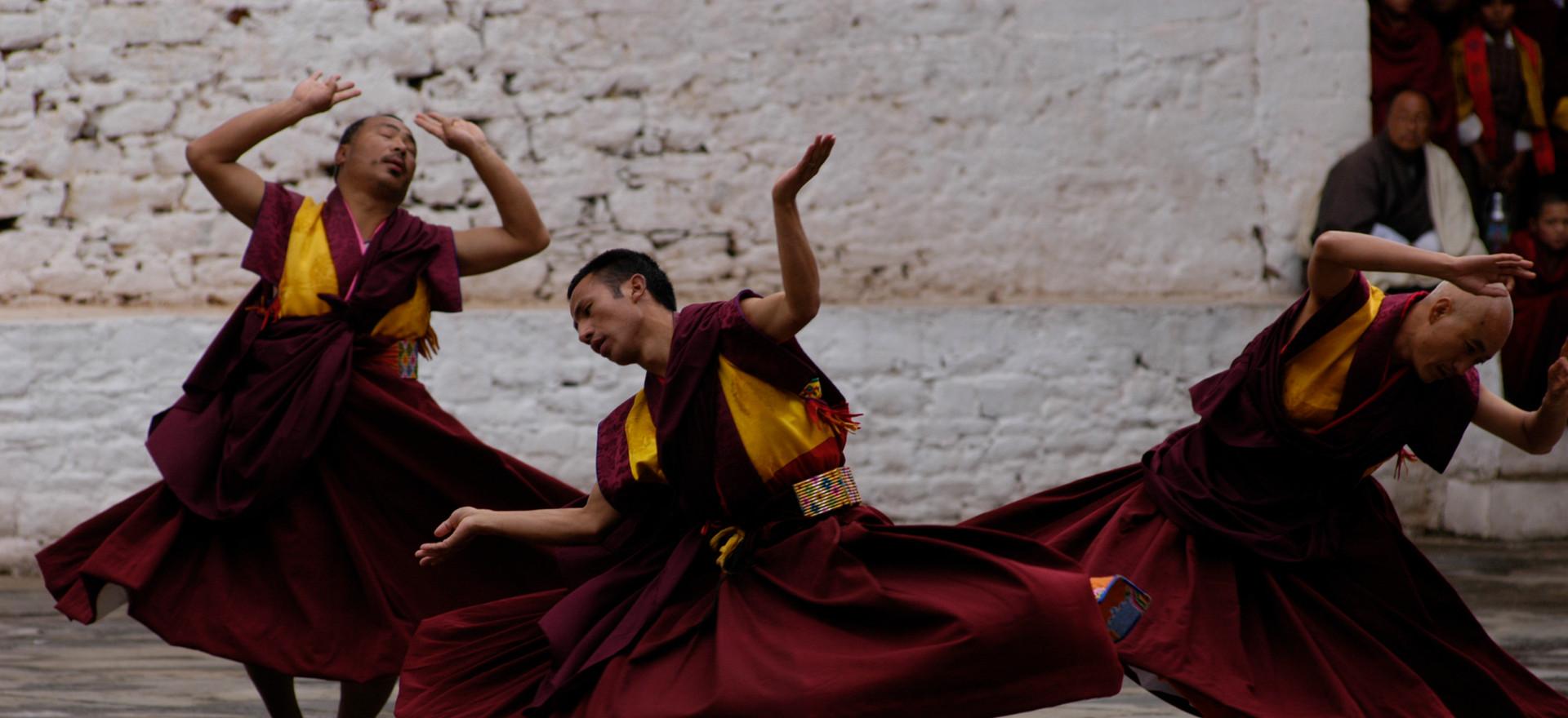 The Sacred Thimphu Drubchen Festival