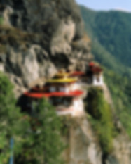 Taktsang monastery in Bhutan visit on oneof our tours.