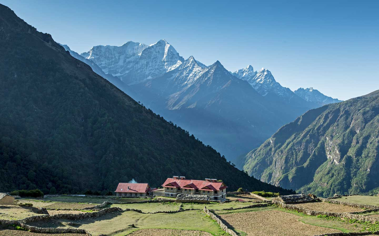 One of our preffered hotels for our experiential tours in the everest region