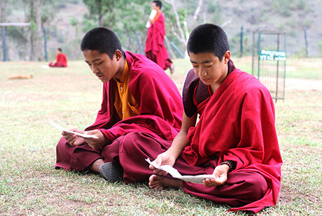 Young Lamas (monks)