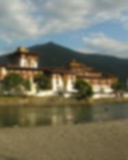 Punakha Dzong on a holiday to Bhutan.
