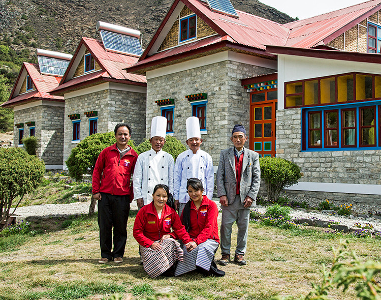 Everest Summit Lodge - Tashinga Staff.jpOne of our experiential lodges along the everest trail