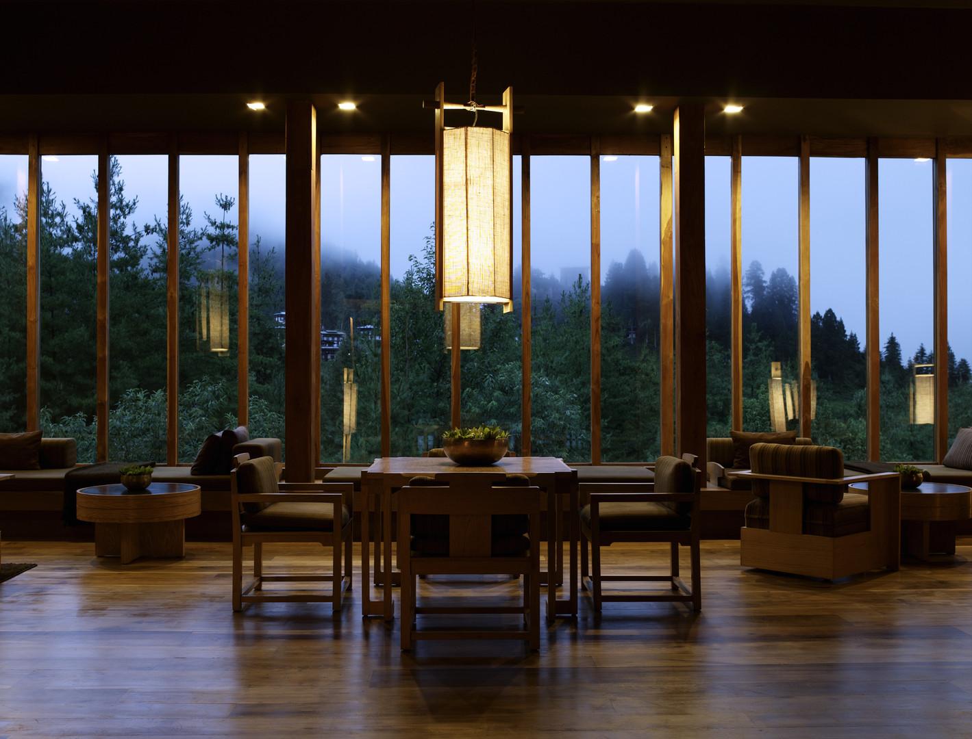 One of experiential tour hotels in Paro, Bhutan. Amankora- Paro.