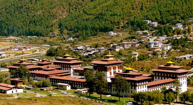 Tashichoe Dzong, Thimphu.