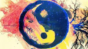 Yin/Yang, Depicting Fla/Earth...