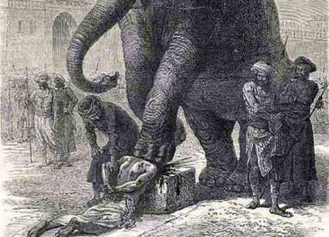 Aplastamiento por elefante: la horrible forma de ejecución practicada hasta el siglo XIX
