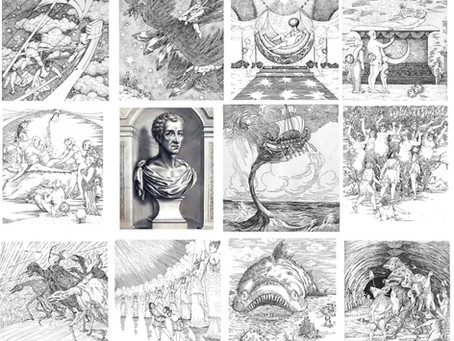 """""""Historias verdaderas"""", el primer libro de ciencia ficción: extraterrestres, guerras espaciales..."""