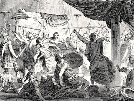 Las últimas palabras de Alejandro Magno en su lecho de muerte: al más fuerte ¿o a Crátero?