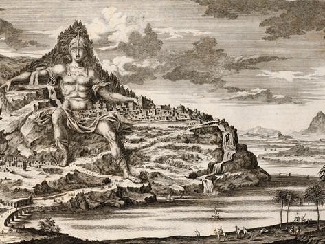 La colosal ciudad esculpida en el monte Athos que Dinócrates proyectó en honor de Alejandro Magno