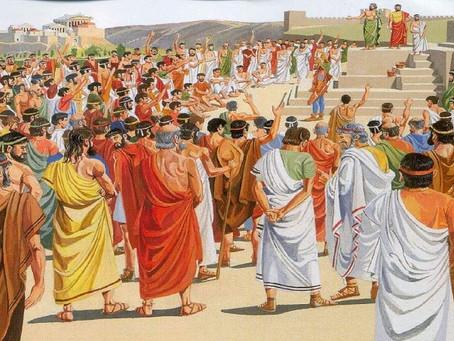 La democracia ateniense y el triunfo de la mediocridad