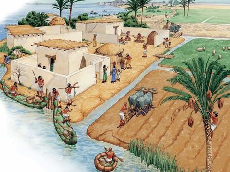 La desertificación de los campos de cultivo sumerios por la sobreexplotación agrícola