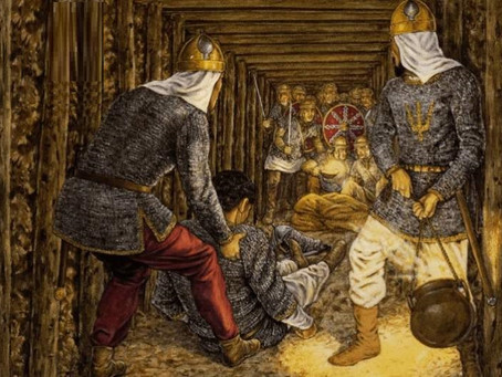 Romanos contra persas: guerra química en la Antigüedad