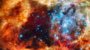 NASA's depiction of fake universe..