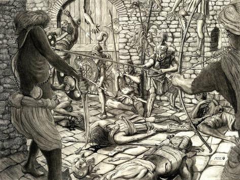 La fortaleza india que pudo ser la tumba de Alejandro Magno: la herida más grave del conquistador