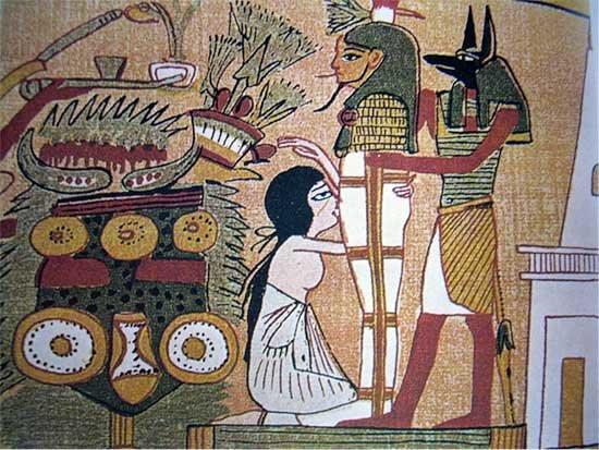 Felación de Isis a Osiris