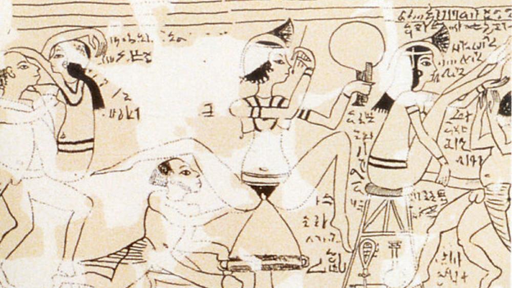 Papiro erótico de Turín