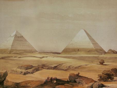 La antigua creencia cristiana de que las pirámides eran los graneros del bíblico José