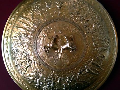 El escudo de Aquiles: la joya de orfebrería forjada por el dios Hefesto