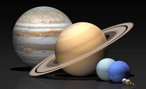 NASA's depiction of fake planets...