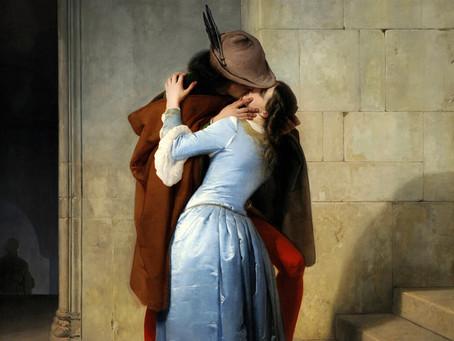 La historia del beso como expresión amorosa y su origen oriental