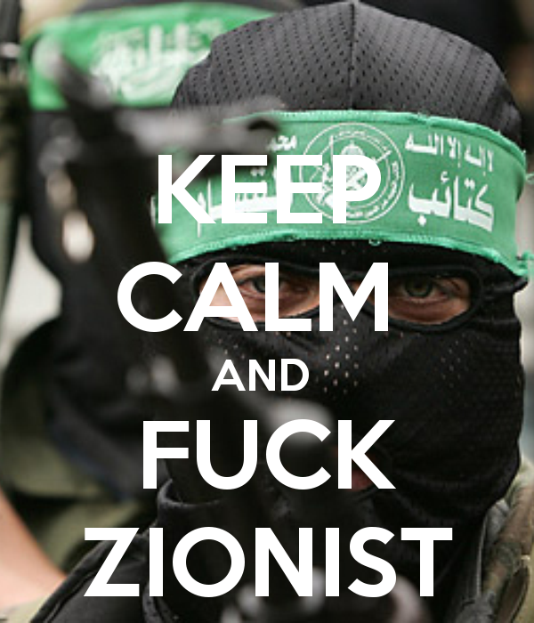 keep-calm-and-fuck-zionist
