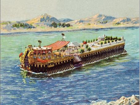 """El """"romántico crucero"""" por el Nilo de Julio César y Cleopatra: una luna de miel de lujo sin igual"""