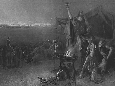 El fenómeno astronómico que aterró a helenos y persas antes de la batalla de Gaugamela