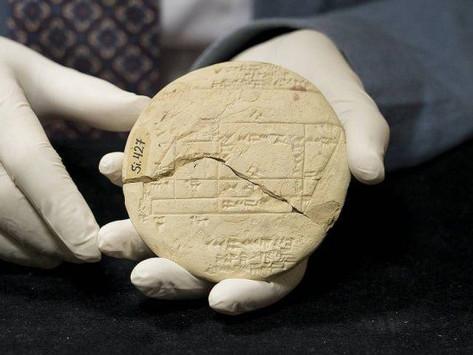 Hallazgo de una tablilla babilonia de 3700 años revoluciona la historia de las Matemáticas
