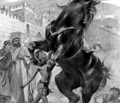 Bucéfalo: un caballo de leyenda