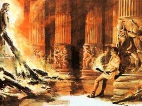 Eróstrato, la destrucción del templo de Artemisa y la fama a cualquier precio