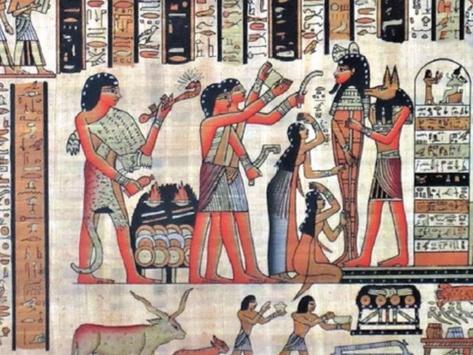 Los sacrificios humanos en las tumbas de los primeros faraones