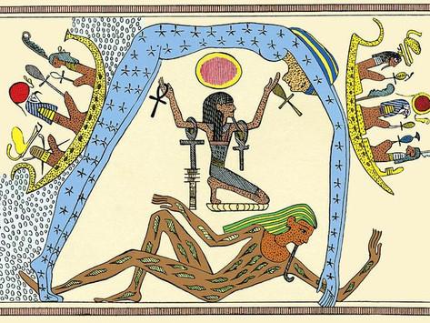 El mito egipcio de la creación
