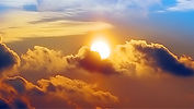 Everyone would like to believe the sun is in outer-space, but it is not! It is right here under the (Dome, Firmament, the heavens so commonly known as, light-blue in color: (LOOK UP AND SEE)...look for yourself to this phenomena called (Flat/Concave, circu