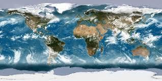 Flat/Concave/Circular/Earth/Map