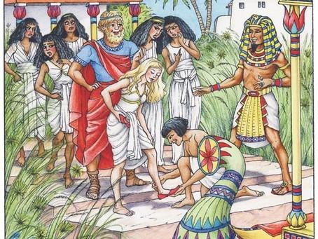 La historia de la esclava Ródope, el origen egipcio del cuento de la Cenicienta