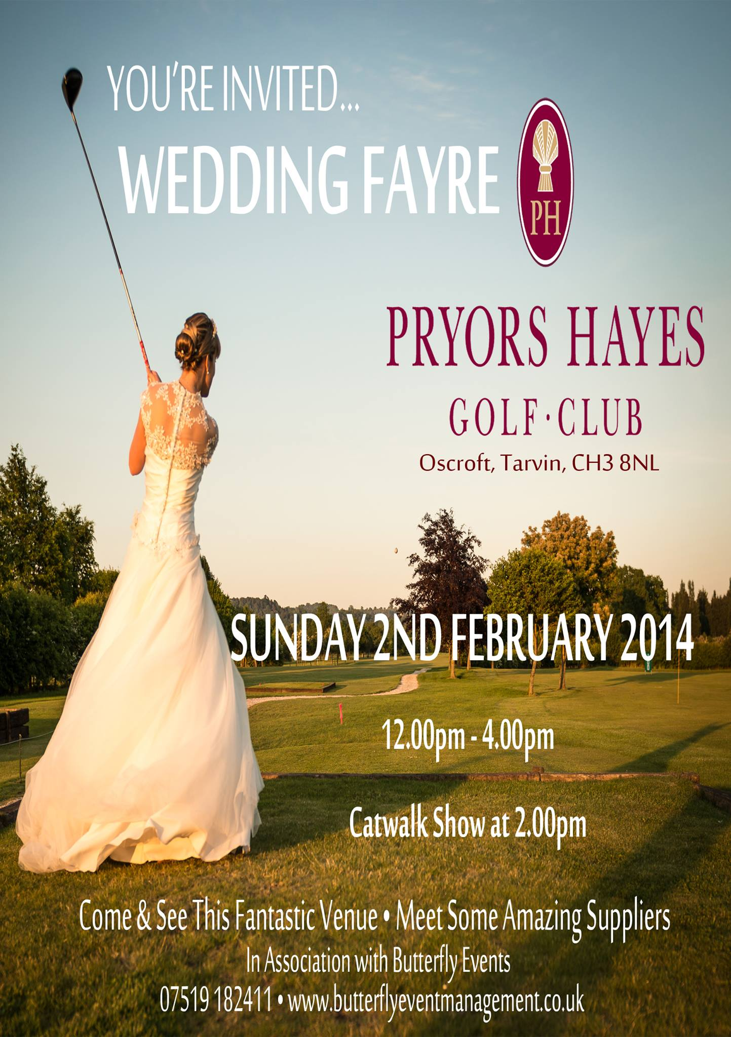 Wedding Fair Leaflet & Online Ad